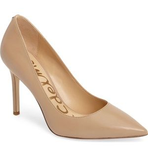 Sam Edelman Nude Pointy Toe Pump